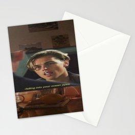 Leonardo DiCaprio wallpaper Stationery Cards