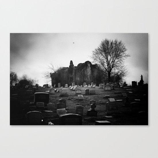 Abandoned Silence Canvas Print