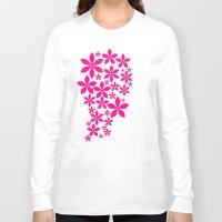 girly Long Sleeve T-shirts featuring Girly Girl by Shivani C