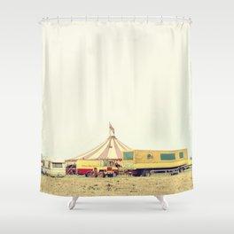 CIRCUS RENZ _2 Shower Curtain