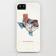 The Heart of Texas (Red, White and Blue) Slim Case iPhone (5, 5s)