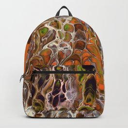 Autumnal ferns Backpack