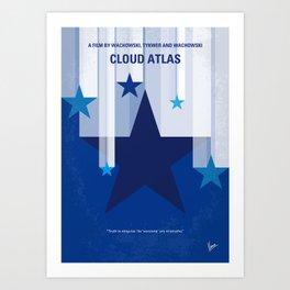 No1041 My Cloud Atlas minimal movie poster Art Print