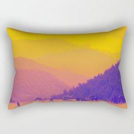 Mountains & Camels Rectangular Pillow