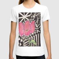 zen T-shirts featuring Zen by Tiffany Alcide