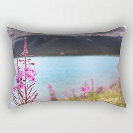 North Flower Rectangular Pillow
