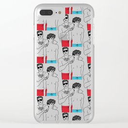Call Me By Your Name: Oliver and Elio Clear iPhone Case