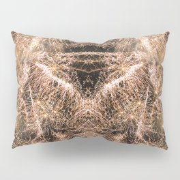 Happy New Year Gold sparkly fireworks Pillow Sham