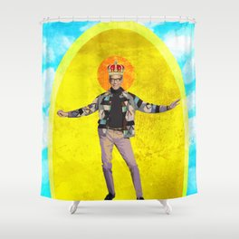 Holy Jeff Goldblum Shower Curtain