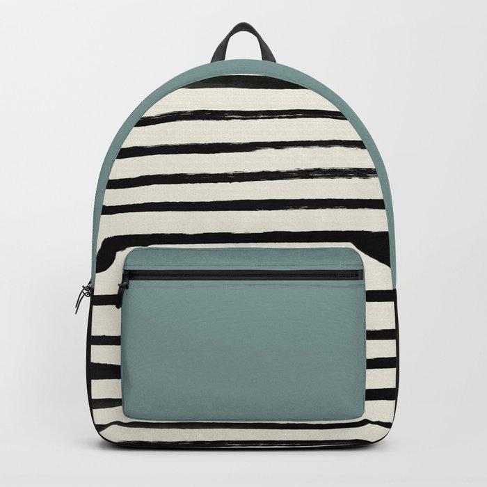 River Stone & Stripes Backpack