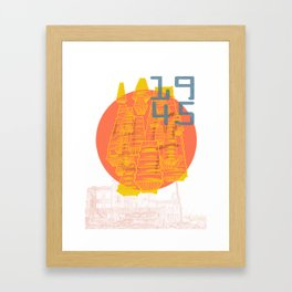 Casualties Framed Art Print