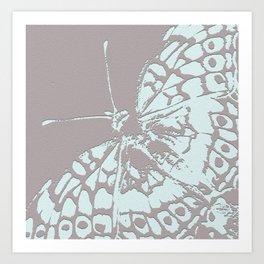 Serene Buttefly Art Print