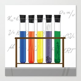 Tubes Test Canvas Print