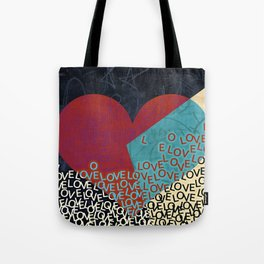 New love heart design valentines 2017 Tote Bag
