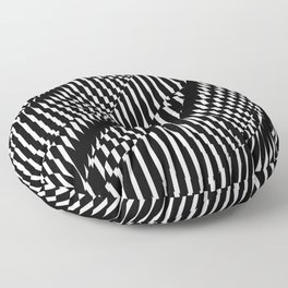Op Art #1 Floor Pillow