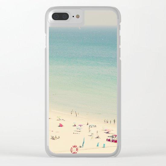 beach VII Clear iPhone Case