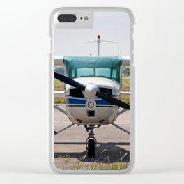 Cessna light aircraft Clear iPhone Case
