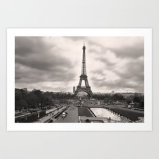 The Famous Tower 2 Art Print