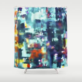 Energy No. 3 Shower Curtain