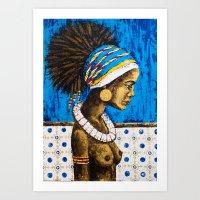 cuba Art Prints featuring CUBA  by Olga Krokhicheva