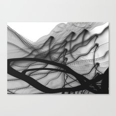 ink-like Canvas Print
