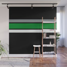 Team Color2,,,,Green ,gray Wall Mural