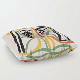 Picasso - Woman's head #1 Floor Pillow
