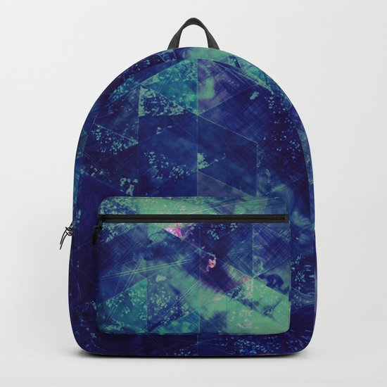 Abstract Geometric Background #20 Backpack