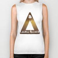laura palmer Biker Tanks featuring Bastille #1 Laura Palmer by Thafrayer