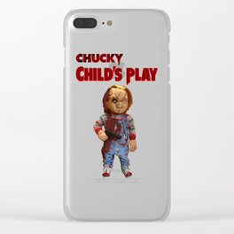 chucky childs play Clear iPhone Case