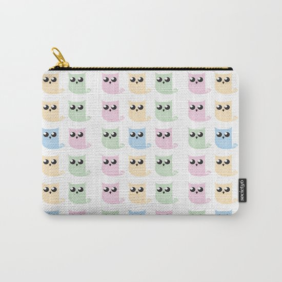 Pastel Mer-owls Carry-All Pouch