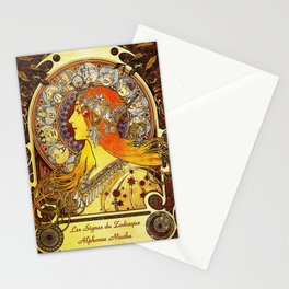 The Signs of the Zodiac Stationery Cards