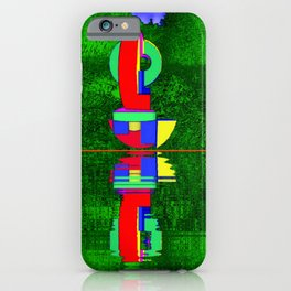 Art meets nature ... iPhone Case