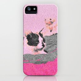 the bed we burnt, the kitten we killed iPhone Case