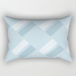 Neapolitan Blue Rectangular Pillow
