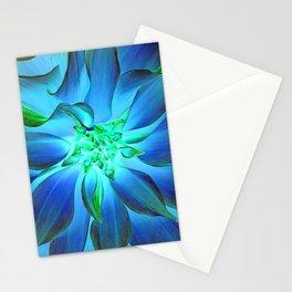 504 -Blue Dahlia Stationery Cards