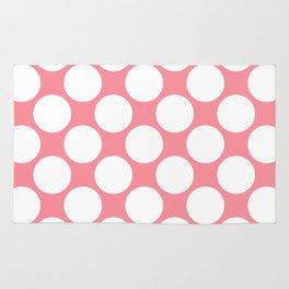 Polka Dots Pink Rug