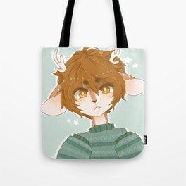 Starry Deer Tote Bag