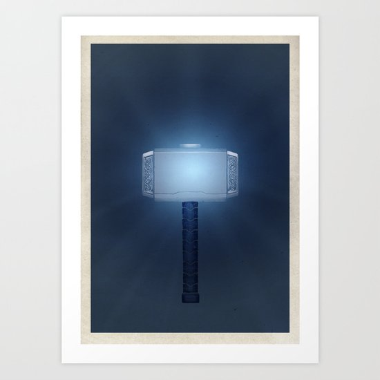 Hammer Time Art Print