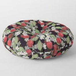 Cherry Charm, Imitation of glass Floor Pillow