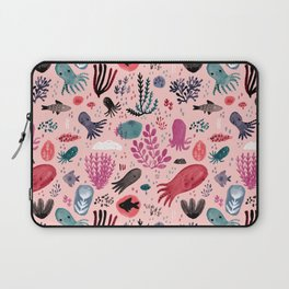 Cephalopod Swim Laptop Sleeve