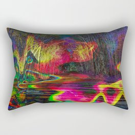 Open Eyes Rectangular Pillow