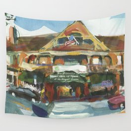 Afternoon light in summer traffic, 1998 Wall Tapestry