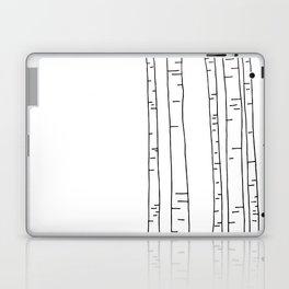 Minimal birches Laptop & iPad Skin