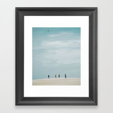 A Fine Day Framed Art Print