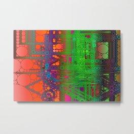 Kringles System Metal Print