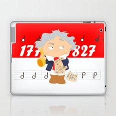 Ludwig van Beethoven Laptop & iPad Skin