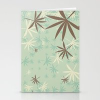 1d Stationery Cards featuring Leaves 1D by Patterns of Life