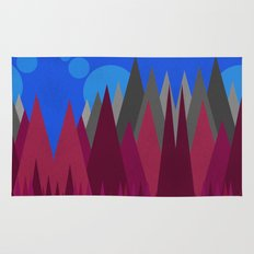 Landscape Abstract colour change Rug