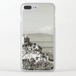 Santa Maria dell'Isola di Tropea in Calabria Italy Clear iPhone Case